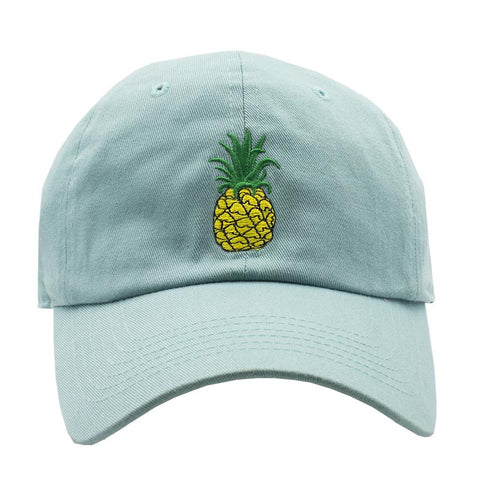Pineapple Dad Hat - Mint