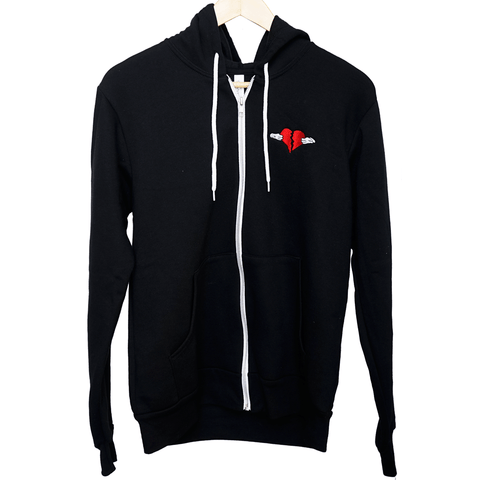 Share The Love Fleece Zip Up Hoodie