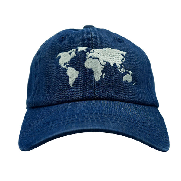 Traveler Dad Hat - Blue Denim