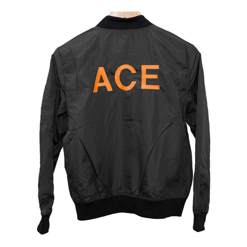 ACE Women's Black Bomber Jacket