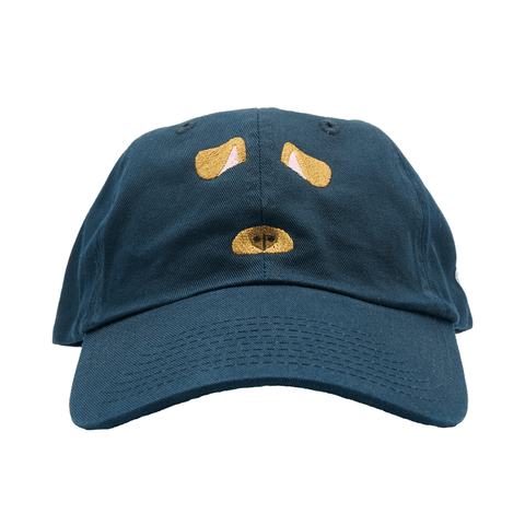 Dog Filter Dad Hat - Navy