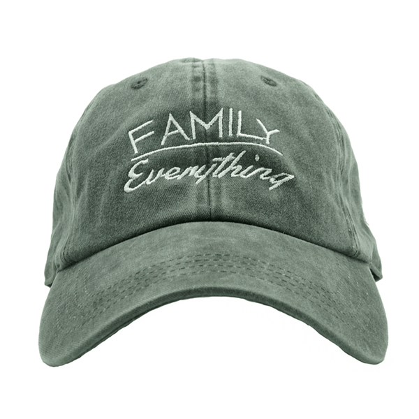 Family Over Everything - Washed Black