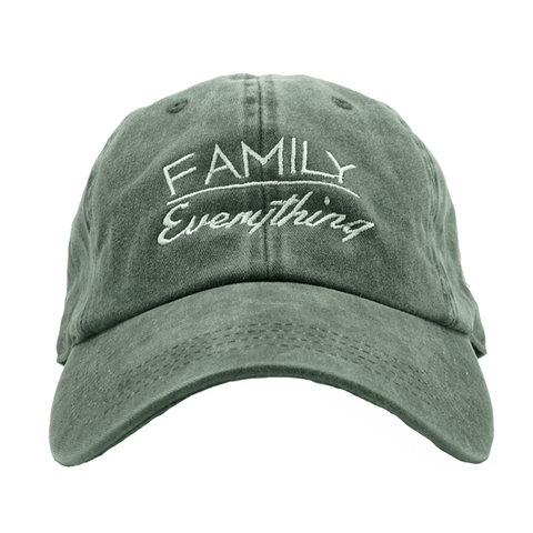 Family Over Everything - Black Denim