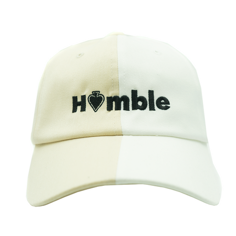 Humble Dad Hat - Two/Tone White/Ivory