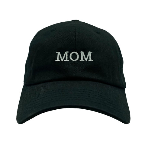 MOM Dad Hat - Black