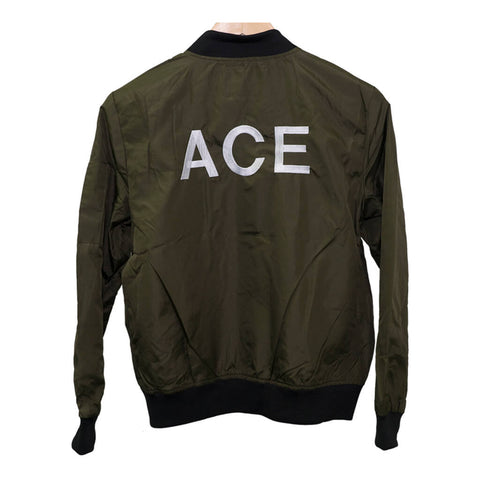 ACE Women's Olive Bomber Jacket