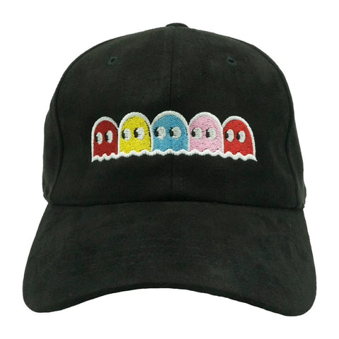 Pacman Dad Hat - Black Suede