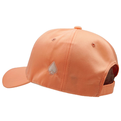 ACE Pink Satin Dad Hat - Pink Satin