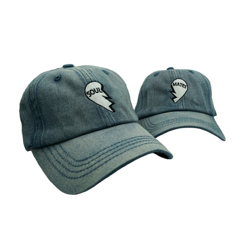 Soul Mates Dad Hat Pack - Light Blue Denim