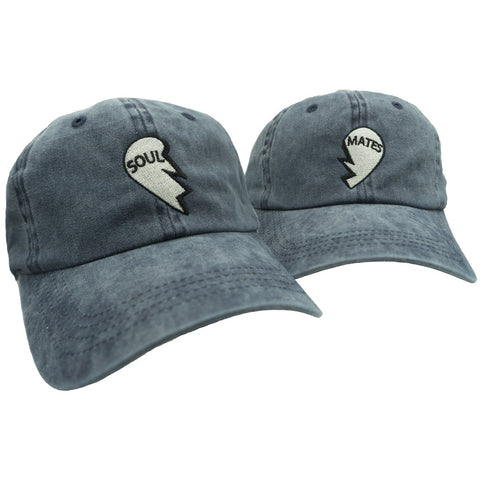 Soul Mates Dad Hat Pack - Washed Blue