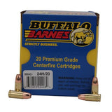9mm +P Barnes TAC-XP (Per 20) - 115 Gr