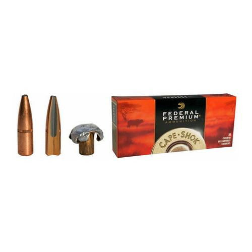 .416 Rigby - Premium Cape-Shok, 400 Grains, Speer Trophy Bonded Bear Claw, Per 20