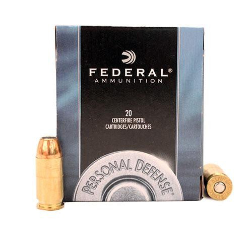 .45 Automatic - Personal Defense, 230 Grains, Jacketed Hollow Point, Per 20