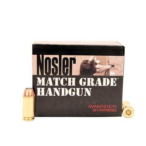 .40 Smith & Wesson Ammunition - Match Grade, 150 Grains, Jacketed Hollow Point, Per 20