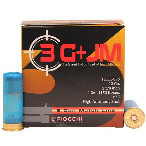 "3 Gun Match, 12 Gauge - 12 Gauge, 2 3-4"", 1 oz, 7 1-2 Shot, 25 Rounds"