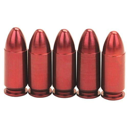 Pistol Metal Snap Caps - 9mm Luger, Per 5