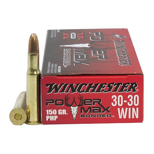 .30-30 Winchester - Power Max Bonded, 150 Grains, Protected Hollow Point, Per 20