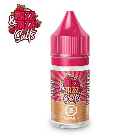 Razz and Jazz Salts Peach Raspberry