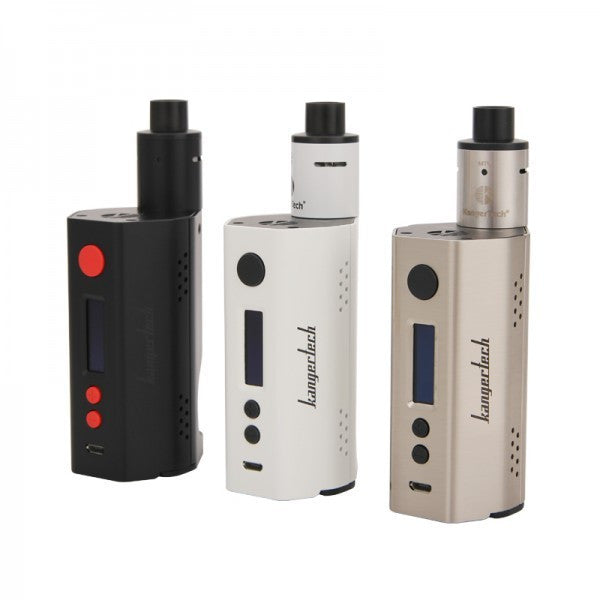 "Kanger DRIPBOX ""160"" RBA Base, 7.0mL & Dual 18650 TC Starter Kit"