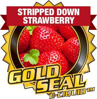Stripped Down Strawberry Gold Seal 60mL