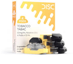 DISC disposable e-liquid Pods-  4PK