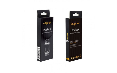 Aspire PockeX U-Tech Coils 0.6ohm 5/PK