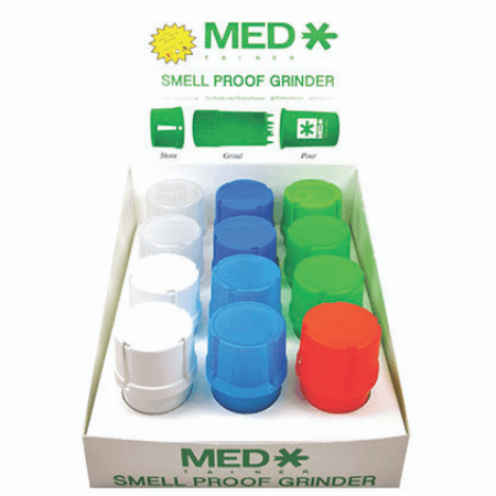 Medtainer Grinder Assorted Colours
