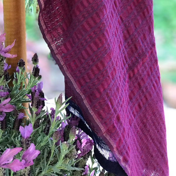 Ethically Hand Woven Silk Shawl