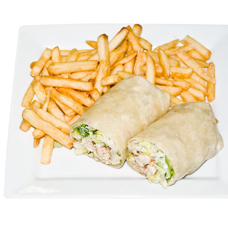 Luigi's Pizza and Pasta of North Hills - Glenside PA. Chicken Caesar Wrap, pickup or delivery.