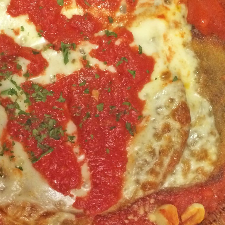 Luigi's Pizza and Pasta of North Hills - Glenside PA. Family Sized Eggplant Parmigiana Italian Dinner, pickup or delivery.