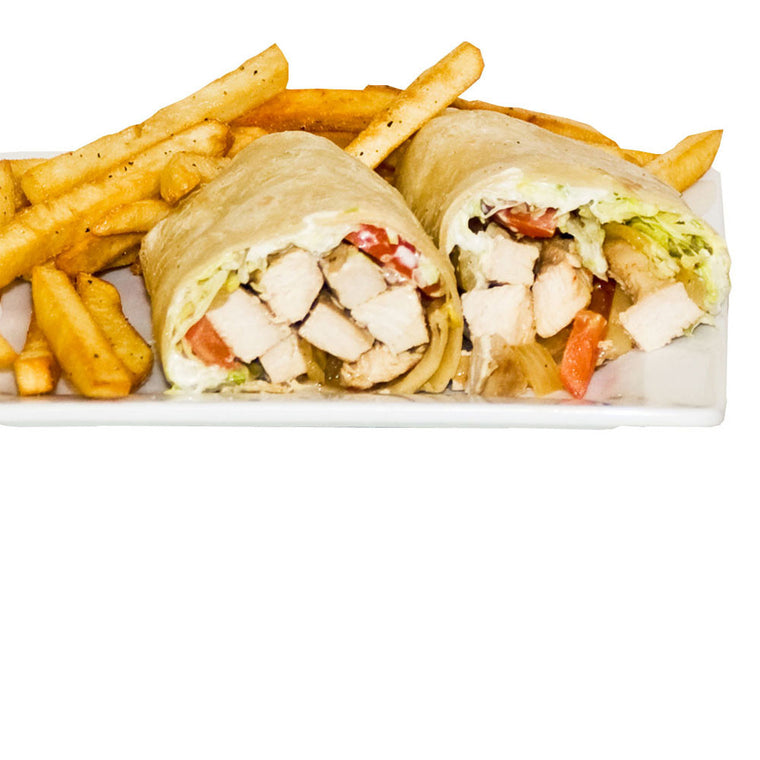 Luigi's Pizza and Pasta of North Hills - Glenside PA. Grilled Chicken Wrap, pickup or delivery.