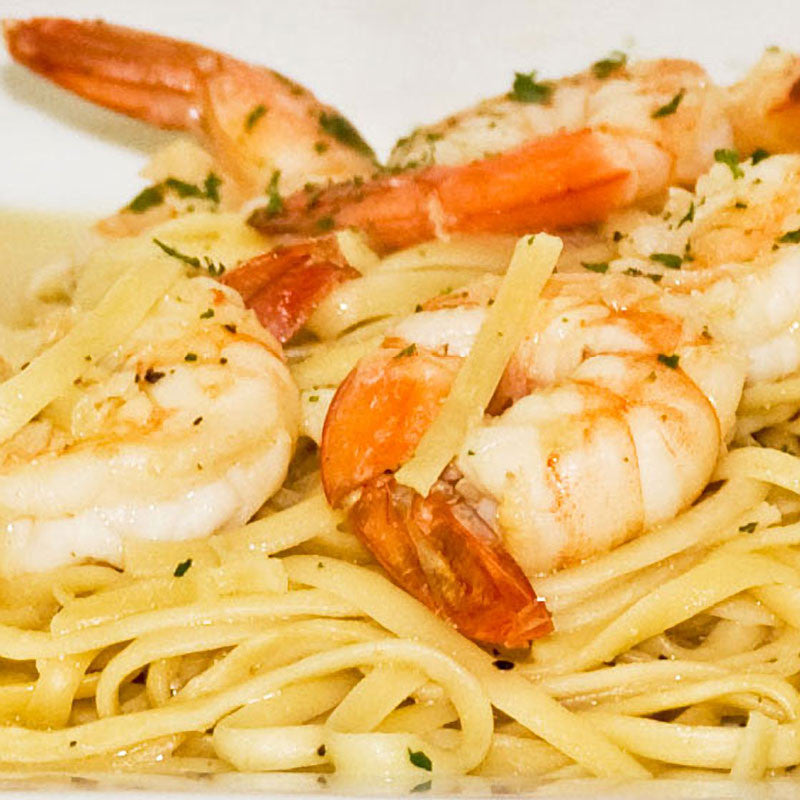 Luigi's Pizza and Pasta of North Hills - Glenside PA. Shrimp Scampi Italian Dinner, pickup or delivery.