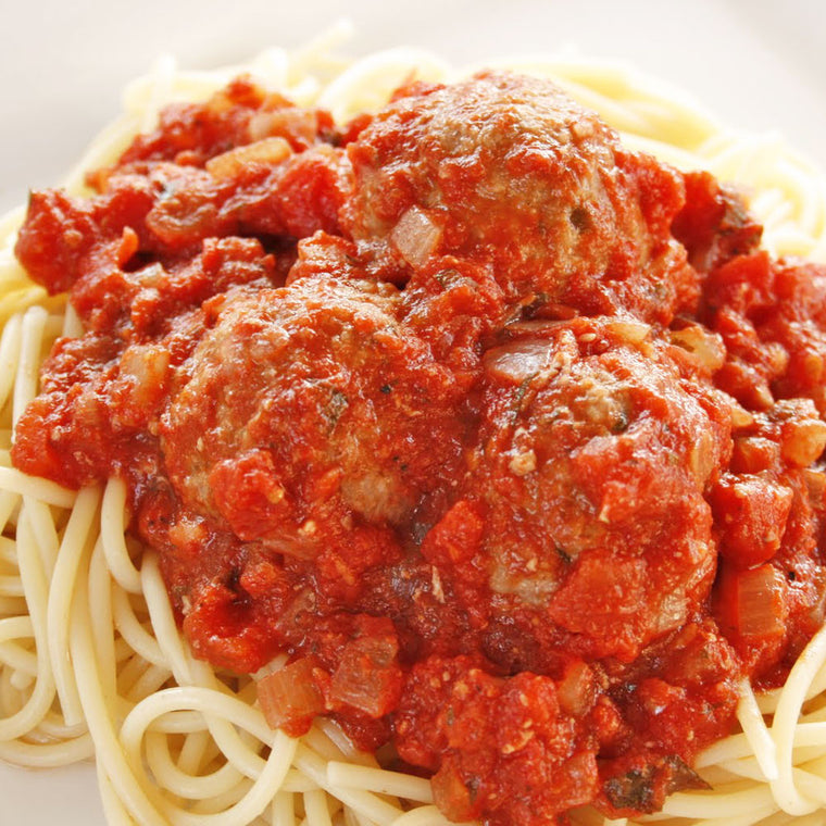 Luigi's Pizza and Pasta of North Hills - Glenside PA. Family Sized Spaghetti with Meatballs Italian Dinner, pickup or delivery.