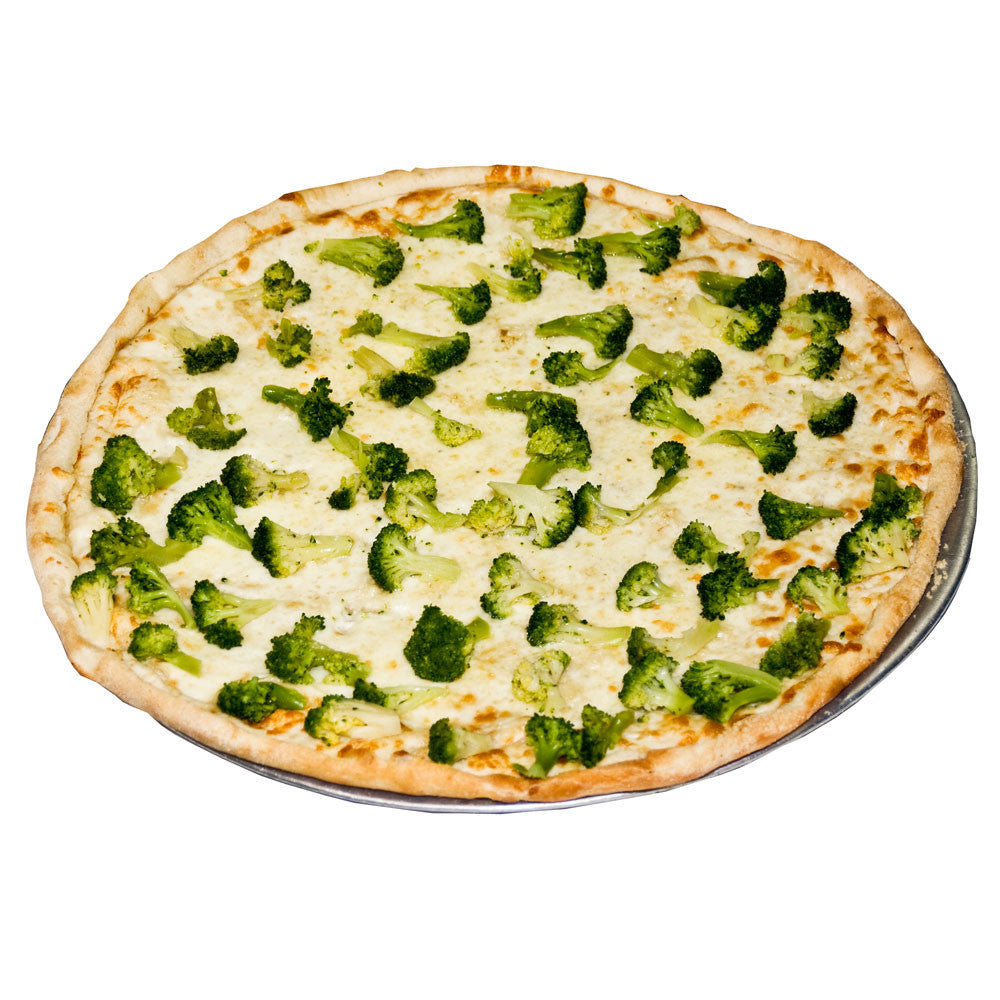 Luigi's Pizza and Pasta of North Hills - Glenside PA. Gourmet White Pizza with Broccoli, pickup or delivery.