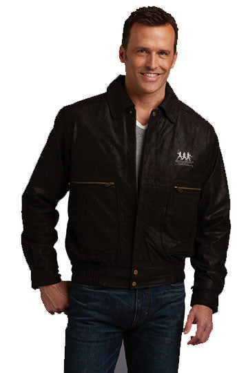 Burk's Bay Dark Brown Brushed Bomber