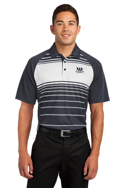 Sport-Tek - Dry Zone Sublimated Stripe Polo