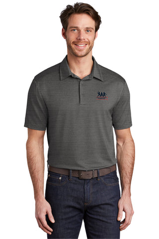 Stretch Heather Polo