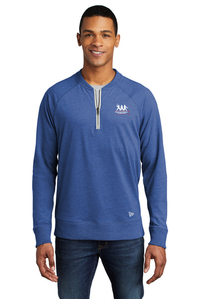 New Era ® Sueded Cotton Blend 1/4-Zip Pullover