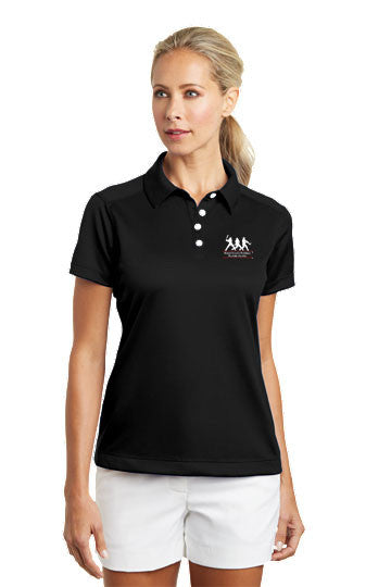 Nike Golf - Ladies Dri-FIT Pebble Texture Polo - Small Clearance