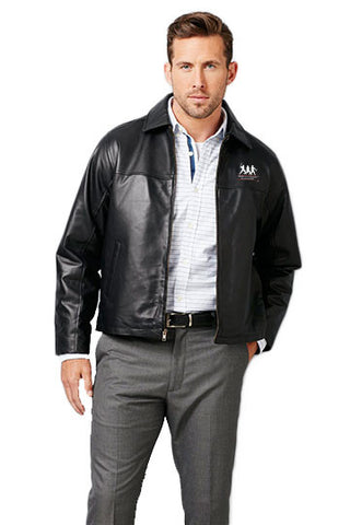 Burk's Bay Lamb Black Driving Jacket