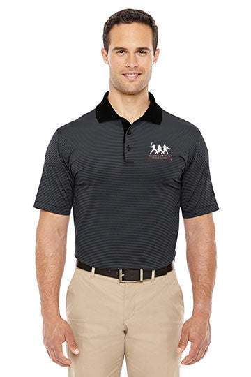 Adidas Golf Men's climalite® Classic Stripe Short-Sleeve Polo