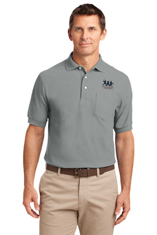 Silk Touch Polo with Pocket