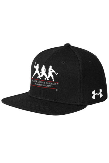 Under Armour Flat Bill Cap- Solid – MLB Alumni Webstore 46fe2f7eacb3