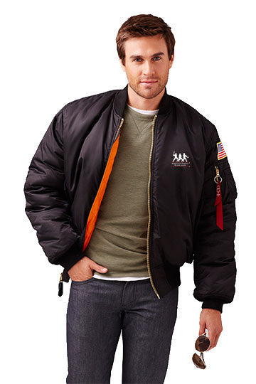 Burk's Bay Bravo MA-1 Nylon Flight Jacket