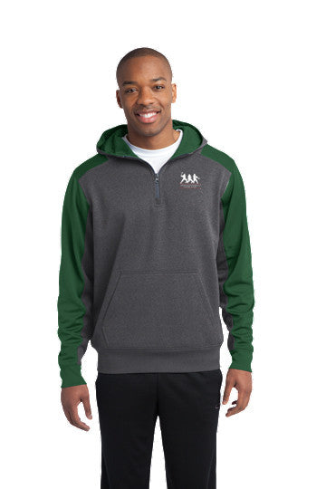Tech Fleece Colorblock 1/4-Zip Hooded Sweatshirt