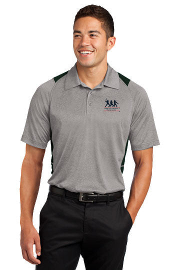 Heather Colorblock Contender™ Polo