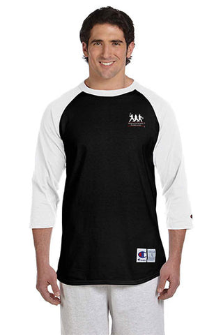 Champion Tagless Raglan Baseball
