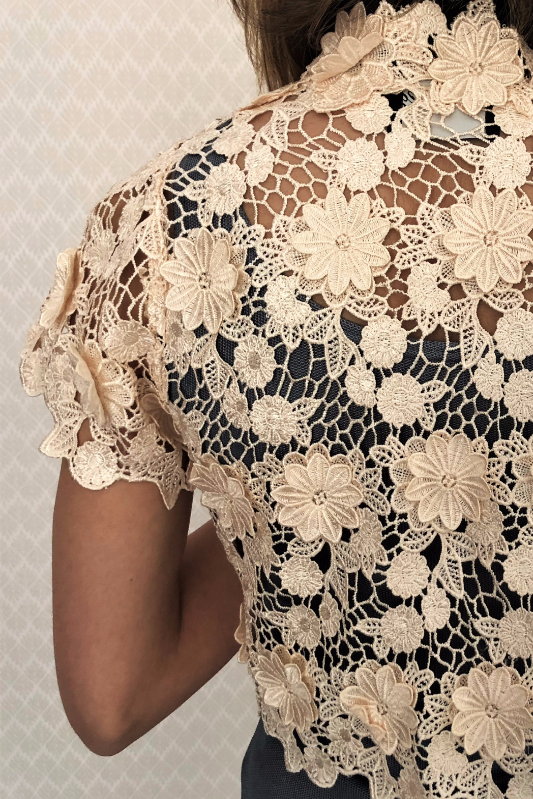 Cotton Lace Bolero