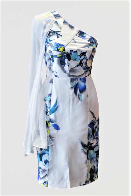 Print One-Shoulder Dress [More Colours]
