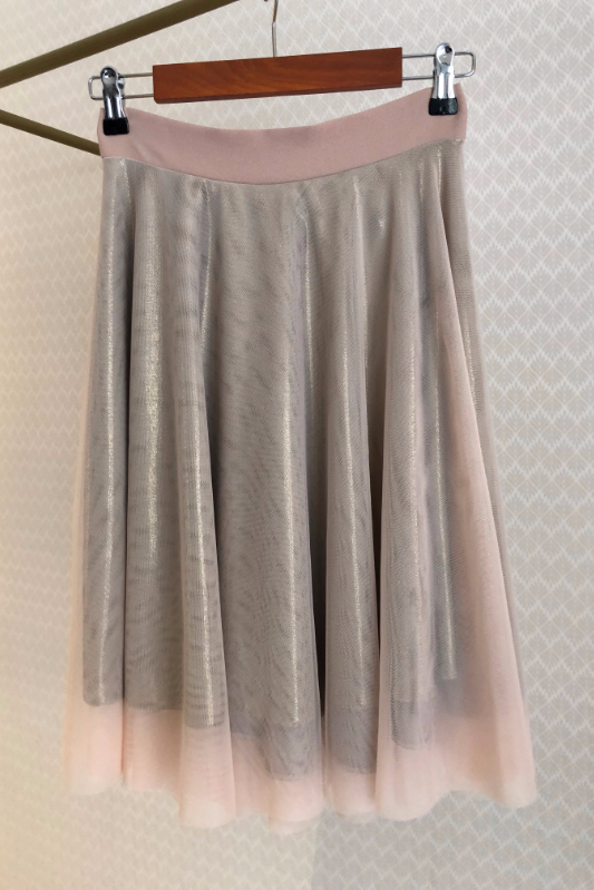 Tulle & Lurex Skirt